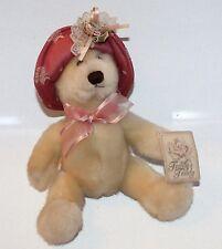 Dan Dee Teddy's Teddy Bear Stuffed Animal Plush Dressy Bear Tag Attached Hat