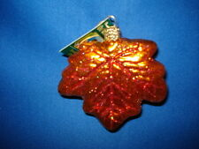 Old World Christmas Maple Leaf #48022 - 36/2
