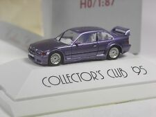 TOP: Herpa Sondermodell BMW 3er GTR Coupé lila Collectors Club 1995 in OVP