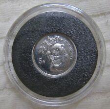 1995 CHINA CHINA PLATINUM PANDA 1/20 OZ. 5 YUAN  RARE MINTAGE
