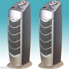 TWO NEW FRESH IONIC AIR PURIFIER PRO IONIZER ION BREEZE UV OZONE CLEANER 08