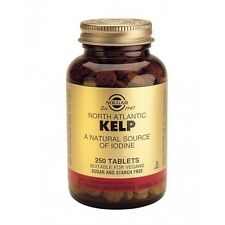 Solgar North Atlantic Kelp Tablets -  250 tabs - a natural source of Iodine