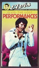 Elvis - The Lost Performances (VHS, 1997, Includes Theatrical Trailer)