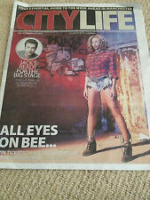 New UK Beyonce Knowles Manchester Evening News City Life Promo Cover Clippings