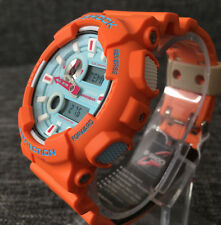 CASIO G SHOCK GAX-100X-4AER ORANGE LIMITED EDITION IN4MATION G-LIDE BRAND NEW