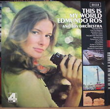 EDMUNDO ROS AND HIS ORCHESTRA THIS IS MY WORLD CHEESECAKE UK PRESS LP