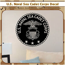 Military US Naval Sea Cadet Wall Sticker Army Air Force Vinyl Navy USA Decal 110