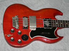 1961 Gibson EB-3 Cherry Red, First year of production (#GIB0006)
