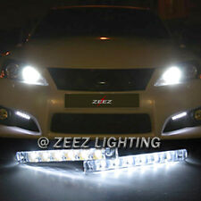 Euro 6 LED Daytime Running Light DRL Daylight Kit Fog Lamp Day Time Lights C16
