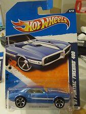 Hot Wheels '67 Pontiac Firebird 400 Street Beasts Blue