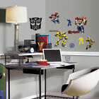 20 New TRANSFORMERS AUTOBOTS WALL DECALS Optimus Prime Bumblebee Stickers Decor