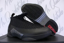 NIKE AIR JORDAN 15 XV RETRO SZ 11 STEALTH 2017 BLACK ANTHRACITE 881429 001