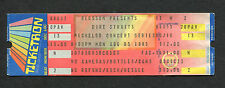 Original Dire Straits 1985 Unused Concert Ticket Cuyahoga Falls Brothers In Arms