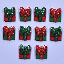 DRESS IT UP Buttons Sew Cute Presents 7589 - Embellishment - Xmas - Christmas