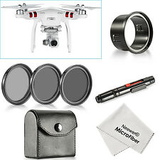 Neewer for DJI Phantom 3 Standard, 37MM Filter Kit (Filters+Adapter+Pen+Cloth)