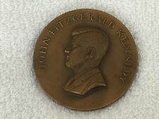 "1961 John Fitzgerald Kennedy Bronze 2 3/4"" Inauguration Coin Medallic Art Co."