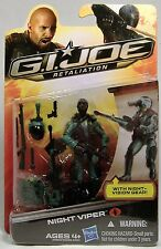 NIGHT VIPER GI JOE RETALIATION COBRA ACTION FIGURE WAVE 4 MOSC HASBRO 2012 RARE