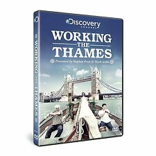 WORKING THE THAMES - DISCOVERY CHANNEL Stephen Frost & Mark Arden NEW
