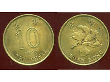 HONG KONG  10 ten cents 1997  ' bis )
