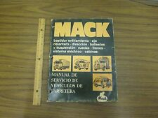 MACK Manual De Servicio De Vehiculos De Carretera TS442 *USED*