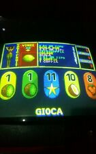 Scheda jamma video poker TROPICAL FRUIT in lingua italiana.