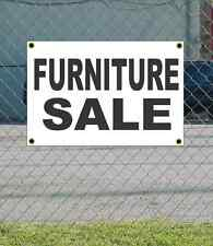 2x3 FURNITURE SALE Black & White Banner Sign NEW Discount Size & Price FREE SHIP