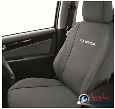 HOLDEN Colorado RG Front Seat Canvas Covers Genuine New 2012-2016 accessories