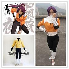 Bleach Cosplay Costumes 2st Shihouin Yoruichi しほういん よるいち any size * Custom-made