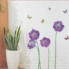 DIY Removable Flower Butterfly Art Wall Decal Sticker Paster Mural Home Decor