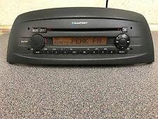 Fiat  Punto Car Radio Stereo Cd Player With Code Made By Blaupunkt High Cd
