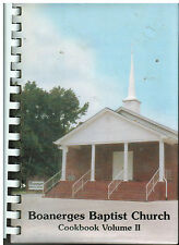 *OLD FORT TN 2006 BOANERGES BAPTIST CHURCH COOK BOOK VOLUME II TENNESSEE RECIPES
