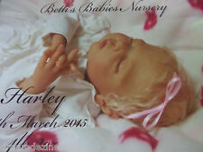 AMAZING REBORN BABY GIRL HARLEY BY MELODY HESS LIMITED #88/500 WORLDWIDE