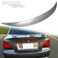 1-SERIES PAINTED ABS BMW E82 PERFORMANCE REAR TRUNK SPOILER 2013 128i 135i Ω