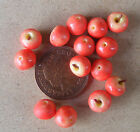 1:12 Scale 6 Red Delicious Apples Dolls House Miniature Fruit Kitchen Accessory