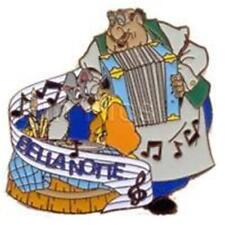 MAGICAL Musical MOMENTS #18 BELLA NOTTE LADY & THE TRAMP 2002 DISNEY PIN