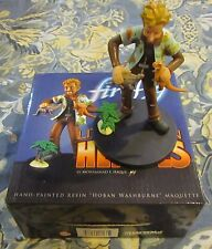 QMx Firefly Little Damn Heroes Wash Animated Maquette + 3 Serenity PVC Figures