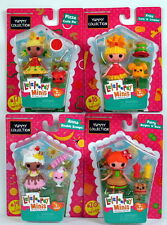 Mini Lalaloopsy Yummy Collection Set PATTY BURGERS FRIES CURLS ANNA DOUBLE PIZZA