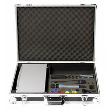 Grandi DAP WIRELESS Foamed MICROFONO FLIGHTCASE valigetta per Dual Radio Mics