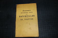 CAT Caterpillar D4 Tractor Crawler Dozer Repair Shop Service Manual original OEM