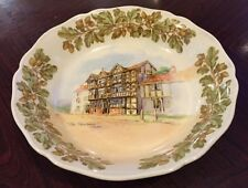 Royal Doulton Bowl Old English Inns The Feathers Ludlow  Early A Mark D6072