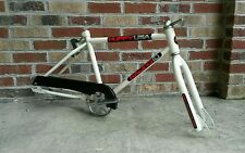 80's Huffy USA Racing 10 Frame Fork Cranks BMX Old School Vintage