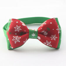 Australian Supplier - Dog or Cat Pet Adjustable Bow Tie Christmas Gift