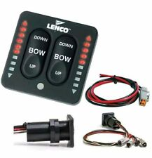 Lenco Electric Trim Tabs 15170-001 LED indicator Switch Kit for single actuator