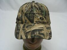 INTERNATIONAL BELT & RUBBER SUPPLY - CAMOUFLAGE - ADJUSTABLE BALL CAP HAT!