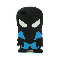 3D Cartoon Super Hero Soft Silicone Rubber Case Cover For Apple iPhone