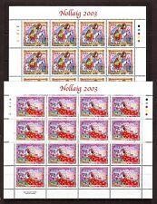 IRELAND - SG1624-1626 MNH 2003 SHEETLETS (16 SETS) CHRISTMAS