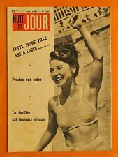 NUIT ET JOUR N° 137 du 7/8/1947-Cette jeune fille est à louer-Pendus sur ordre