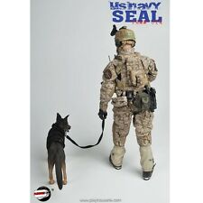 "Playhouse 1/6 Scale 12"" US Navy Seal Team Six Action Figure with Dog PH-005"