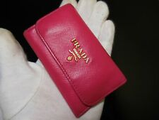 PRADA Key Case Ring Pink very good condition!!!