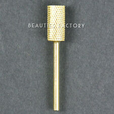 Electric Cylinder Carbide File Drill Bit Nail Art Manicure Pedicure Tool #483C